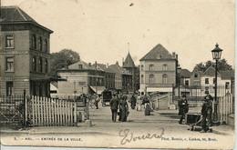 """CPA-HAL """" Entrée De La Ville """" - Halle"""