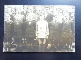 Kleine Fotokaart, 5dejaar Grieks Latijns 1928-1929 - Koninklijk Atheneum Mechelen - Mechelen