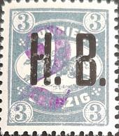 Germany Stadtpost/Privatpost Leipzig 2 On 3 Pfg Michel 12 1893 Unused - Sello Particular
