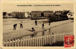 CPA COURSEULLES-sur-MER - Les Parcs Aux Hultres Et Les Chalets (515940) - Courseulles-sur-Mer