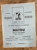 PROTEGE CAHIER MATOU - Produits Ménagers