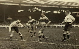 BUFFALO 1930 MATCH PARIS RANCE LONDRES LONDON UK ENGLAND FOOTBALL ASSOCIATION   18*12CM  AGENCE ROL - Sports