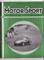 MOTOR SPORT N°9 Septembre 1958 - 1950-Oggi
