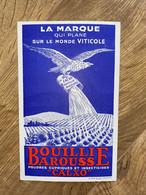 BUVARD BOUILLIE BAROUSSE - Agriculture