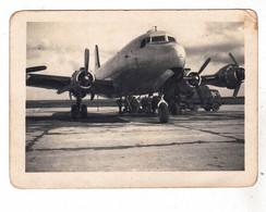 PHOTO  AVION  AVIATION DOUGLAS DC 4 DU GENERAL DE GAULLE OFFERT PAR LES AMERICAINS - Aviation