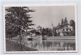 THUN (BE) Schiffskanal - Dampfer Beatus - Verlag Perrochet 11672 - BE Berne