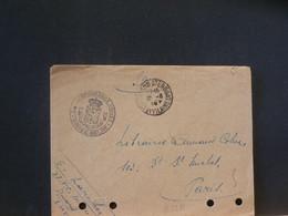 B5373  LETTRE SOLDAT  OBL.   FRANCE - Belgisch Leger