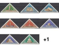 Ref. 651703 * MNH * - QU'AITI. State Of Hadhramaut. 1968. WONDERS OF ANCIENT WORLD AND MODERN ERA . MARAVILLAS DEL MUNDO - Yemen