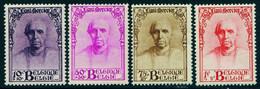 """BELGIEN 1932 Michel-# 333-336 """" Reeks Kardinal Mercier Satz ** """" Michel ~13 € Belgie Belgique - Ongebruikt"""