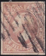 Luxembourg   .  Y&T    .   2  (2 Scans)     .    O     .   Oblitéré   .   /   .    Gestempelt - 1852 William III