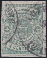Luxembourg   .  Y&T    .   15    .    O     .   Oblitéré   .   /   .    Gestempelt - 1859-1880 Wapenschild