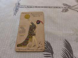 128 , Carte Parfumée, SHYB , Parfums, Crème, Poudre , Savon, Paris, Illustré Par Vila - Anciennes (jusque 1960)