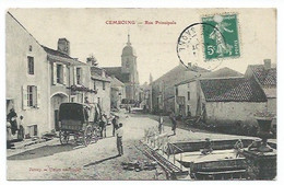 70 - CEMBOING - Rue Principale - CPA - Unclassified