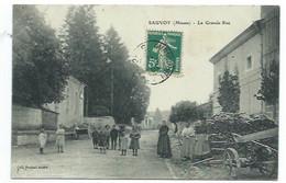 55 - SAUVOY - La Grande Rue - CPA - Unclassified
