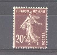 0ob  0522  -  France  :  Yv  139  *    Type III - 1906-38 Semeuse Camée