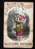 Partition Illustrée - LE CHANT DU PINSON - Paroles De Emile & Paul LE ROYER - Musique De KRAF-HERMAN - Spartiti