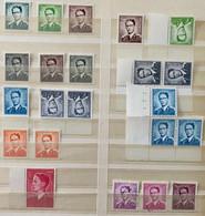 1958 Baudouin Marchand Complete Serie 1066/1075 + 1069A - (all MNH** Except 1067,1069 & 1072) - OBP/COB 2019 :  350 Eur - Nuevos