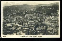 Trieste Panorama O Monte 1927 - Trieste