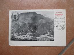 Religione CRISTANESIMO Un Saluto Dal Santuario Di CAPOSELE Avellino 1904 Viagiata - Heiligen