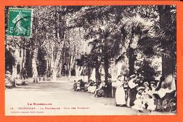 X66458 PERPIGNAN (66) Landau La Promenade Coin Des NOUNOUS 1911 à Honoré VILAREM Port-Vendres -LABOUCHE 15 - Perpignan