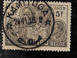 Congo Belge - Cinquantième Anniversaire De La Fondation De L'État Indépendant Du Congo Y&T N° 191 Obl LOT N° C243 - Otros