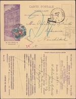 Belgium - Advertising Postcard. Office De Publicité J. Lebegue & Cie - Bruxelles (Rue Neuve 36) 1920 - Neuchâtel. - Lettres & Documents