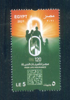 EGYPT / 2021 / MISR LIFE INSURANCE / MNH / VF - Neufs
