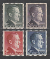 GERMANY REICH WWII 1942 Mi 799-802 MNH ** FULL SET Hitler - Nuevos