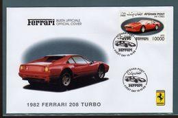 Ferrari Afghanistan Fdc 208 Turbo - Automobili