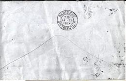 75 - PARIS DISTRIBUTION - 1914 - PARIS XVIII/DISTRIBUTION - FLIER -  DREYFUSS N°A18602 - Sellado Mecánica (Otros)