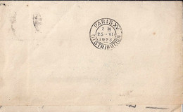 75 - PARIS DISTRIBUTION - 1920/24 - PARIS XV/DISTRIBUTION (BD SEUL) - FLIER -  DREYFUSS N°A15601 - Sellado Mecánica (Otros)