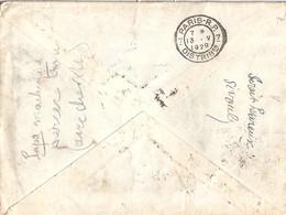 75 - PARIS DISTRIBUTION - 1928/29 - 7 PARIS RP 7/DISTRIBon (BD SEUL) - FLIER -  DREYFUSS N°A00782 - Sellado Mecánica (Otros)