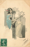 ART NOUVEAU    Illustrateur S. HRVBY Femme - Other Illustrators