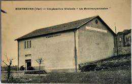 """MONTMEYAN (Var) - Coopérative Vinicole """"La Montmeyannaise"""" - Sonstige Gemeinden"""
