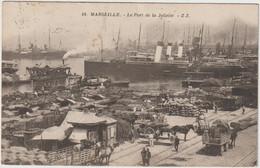 MARSEILLE  LE PORT DE LA JOLIETTE - Joliette