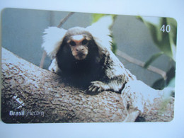 BRAZIL USED CARDS ANIMALS MONKEY - Giungla