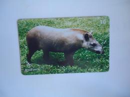 BRAZIL USED CARDS ANIMALS - Giungla