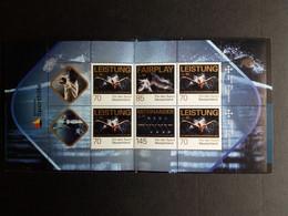 DEUTSCHLAND MH 106 POSTFRISCH(MINT) 50 JAHRE DEUTSCHE SPORTHILFE 2017 POSTPREIS 7,25 € - Postzegelboekjes