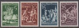 1939. DANZIG. 125. Jahrestag Der Wiedervereinigung Der Hansestadt Danzig Mit Preußen.... (Michel 302-305) - JF422074 - Danzig