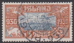 1930. The Parliament. Alltinget. 15 Aur.  (Michel 142) - JF422098 - Gebruikt