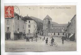 25 -  VUILLAFANS - La Place De L' Eglise - Other Municipalities