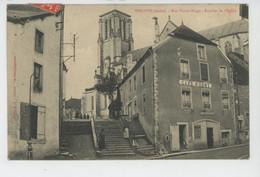 ESSOYES - Rue Victor Hugo - Escalier De L'Eglise - Essoyes