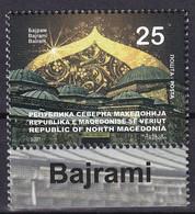 MACEDONIA NORTH 2021,BAYRAM,RELIGION,ISLAM,ARHITECTURE,MNH - Macédoine