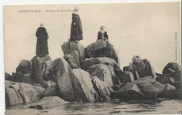 Carnac Plage Rocher De Toul Pleiner Collection Le Rouzic - Carnac