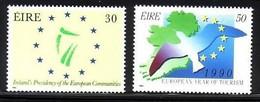 IRLAND MI-NR. 698-699 POSTFRISCH(MINT) MITLÄUFER 1990 VORSITZ IM MINISTERRAT - Europese Gedachte