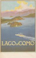Pubblicitarie - Lago Di Como - Navigazione - F. Piccolo  - Nuova - Molto Bella - Pubblicitari