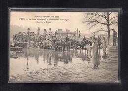 *(02/07/21) 75-CPA PARIS - INONDATION JANVIER 1910 - La Crecida Del Sena De 1910