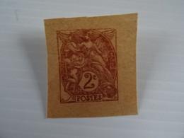 Type Blanc (2 Centimes) - Unused Stamps