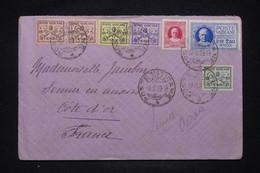 VATICAN - Enveloppe Pour La France En 1929, Affranchissement Avec Timbre Exprès - L 100654 - Lettres & Documents