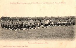 Plateau De Malzéville, Revue D'un Régiment D'infanterie Du 20e Corps D'armée Par Le Général Bailloud, 31 Mai 1906 - Regimientos